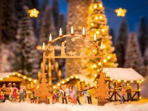 Noch 14391 Christmas Market Entry Arch Laser Cut Minis Kit HO OO Gauge
