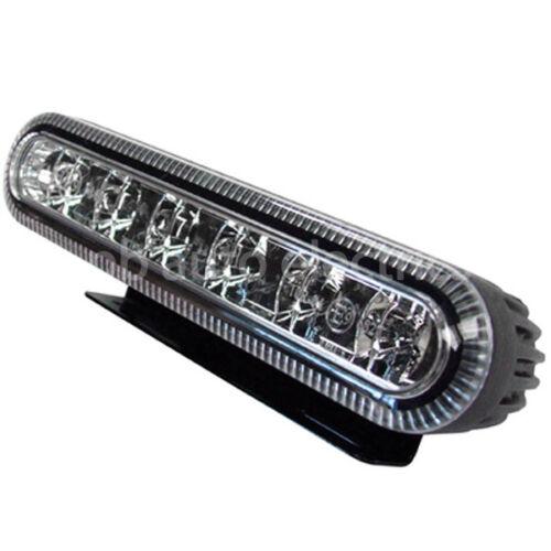 Vision Alert Amber LED Strobe Warning Light Reg65 IP67 12-24v 18w ED5000A