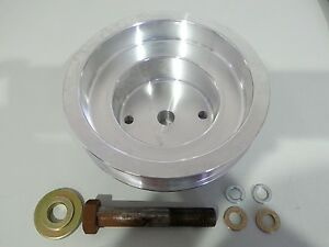 Supercharger-Kit-Part-Crank-Pulley-to-suit-Holden-Commodore-VN-VY-V6-Vortech