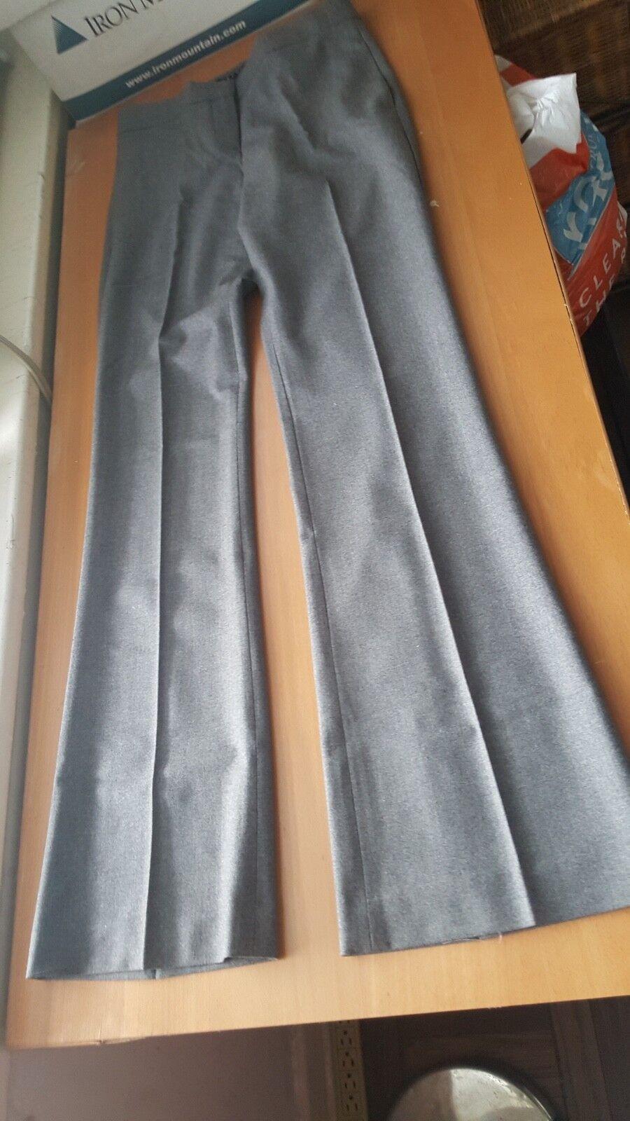 Theory NWOT  Yadie charcoal grey wool pants size 2
