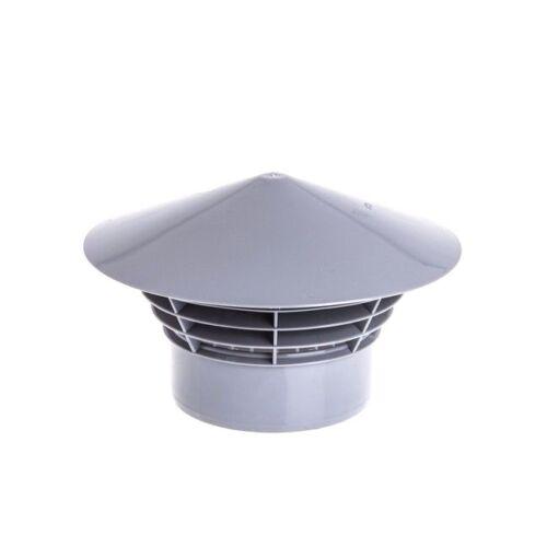 Entlüftungshaube DN 110 HT KG Rohr Dachentlüfter Kläranlage Dachbelüfter