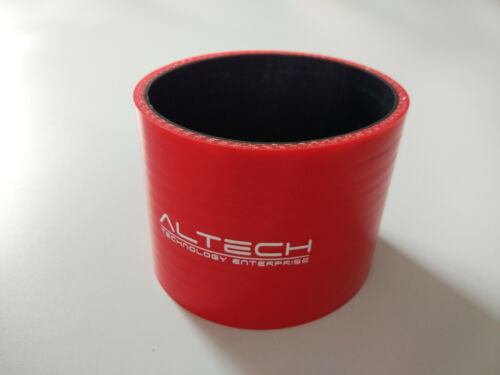 """2.5/"""" ID63mm Straight Silicone Coupler Hose Intercooler Pipe Turbo Hose Red Stock"""