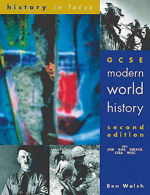 1 of 1 - GCSE Modern World History by Ben Walsh (Paperback, 2001)