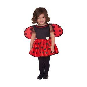 nuovo prodotto il più grande sconto regno unito Costume da COCCINELLA bambina CARNEVALE neonata vestito ladybug ...