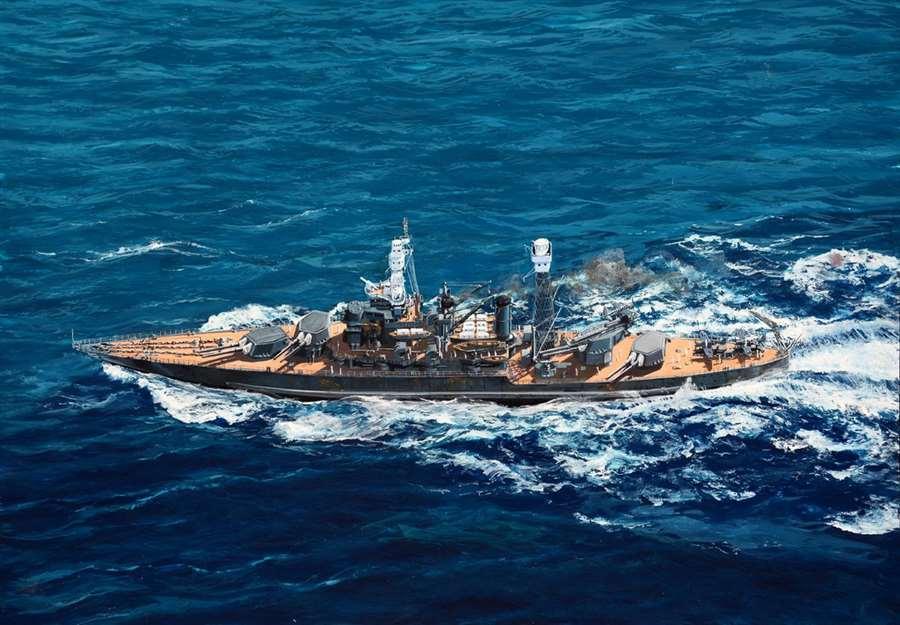 Trumpeter  1 700  USS West Virginia Virginia Virginia BB-48 1941 New Release 8a3e47