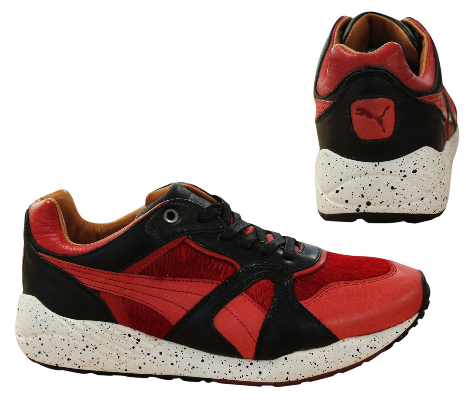 Puma Trinomic XS500 X Miitaly Mens Trainers Red Made In  357262 04 M11