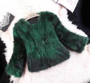 100% Real Genuine natural  fur Coat womens Winter Outwear ladies overcoat Jacket