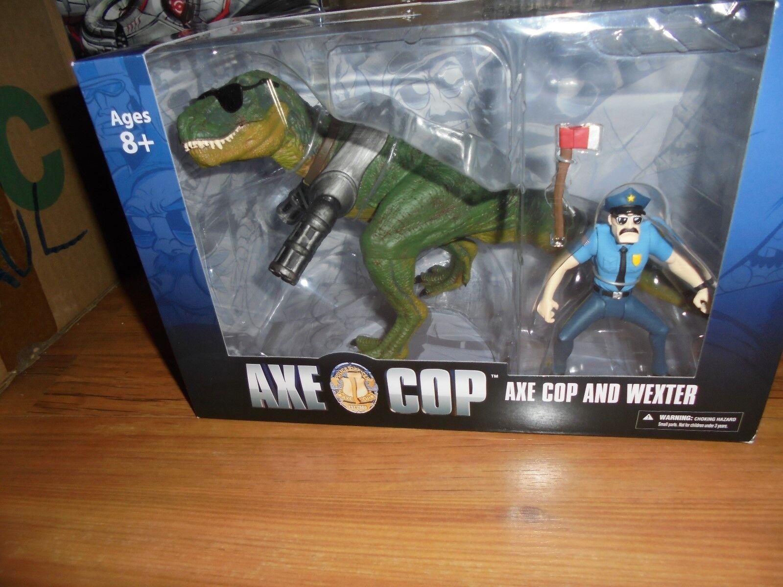 bulle  axt polizisten und wexter  boxed action - figur mezco 2013