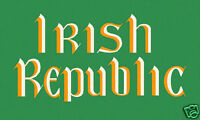 "IRISH REPUBLICAN"" IRISH REPUBLIC FLAG"" 5FT X 3FT EASTER RISING DUBLIN REBEL"