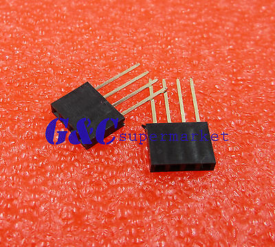 20pcs 4 Pin 2.54MM Female Stackable Header Connector Socket For Arduino Shiel Fq