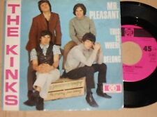 "THE KINKS -Mr. Pleasant- 7"" 45 Hit-ton"
