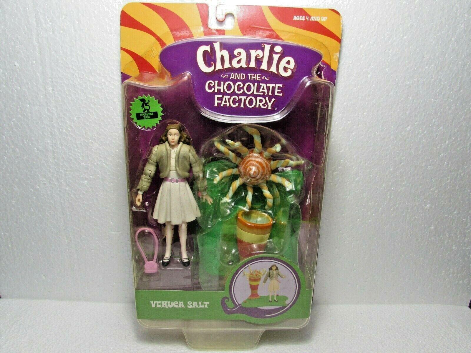 Charlie e the Chocolate Factory Veruca  Salt azione cifra nuovo Shelf Wear  stile classico