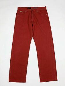 Navigare-jeans-uomo-usato-gamba-dritta-W34-tg-48-leggeri-denim-boyfriend-T6170