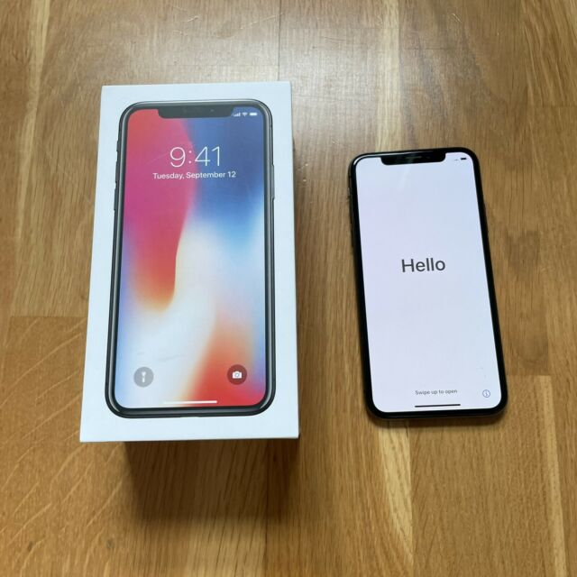 Apple Iphone X 64GB Space Grey EE