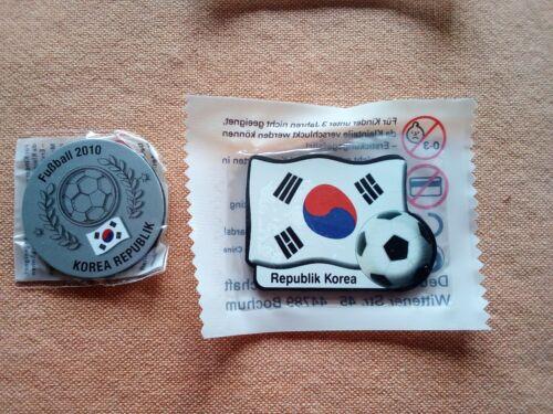 WM 2018 Neu/&Ovp Magnet Fußball WM 2010 Südkorea 2 stück Kühlschrank