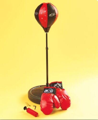 "Adjustable Kid/'s Punching Bag Set Freestanding 4 /""Your Little Light Heavyweight/"""