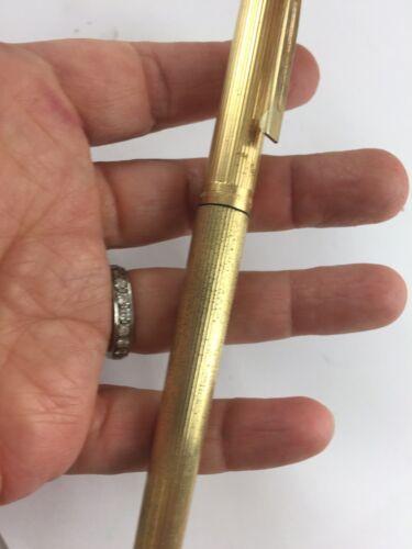 Sheaffer Gold Electroplated 14k Nib 585 Men's Fountain Pen.