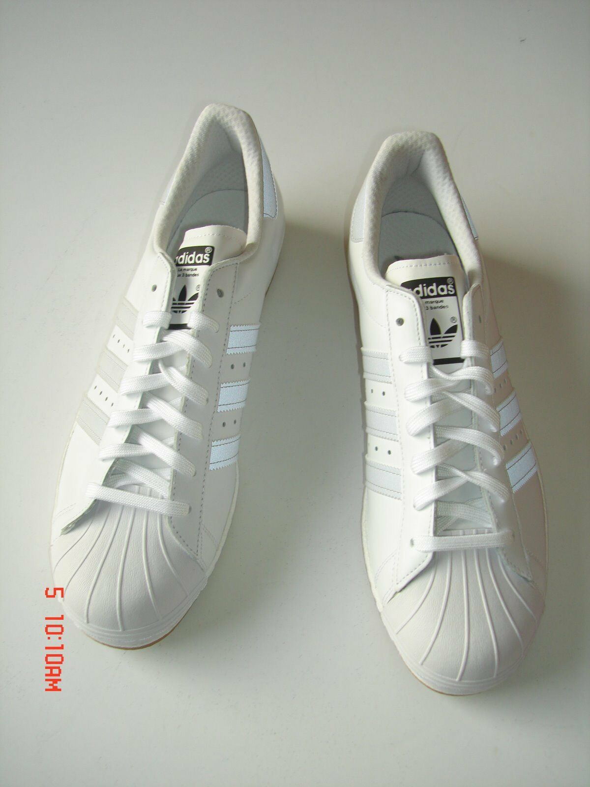 Adidas® SHOES-SUPERSTAR 80s REFLECTIVE- Size 13-NEW–S/N B35384 – WHITE on WHITE