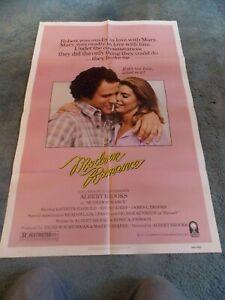 """MODERN ROMANCE(1981)ALBERT BROOKS ORIGINAL ONE SHEET POSTER 27""""BY41"""""""