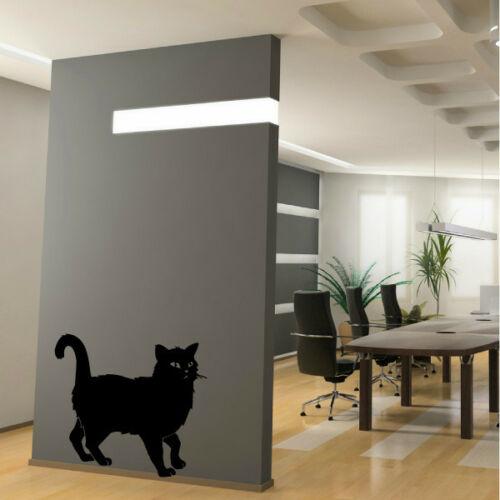 Animal Sticker Mural Silhouette chat