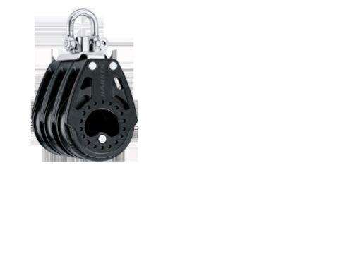 57mm Carbo Block 3-fach mit Wirbel HARKEN