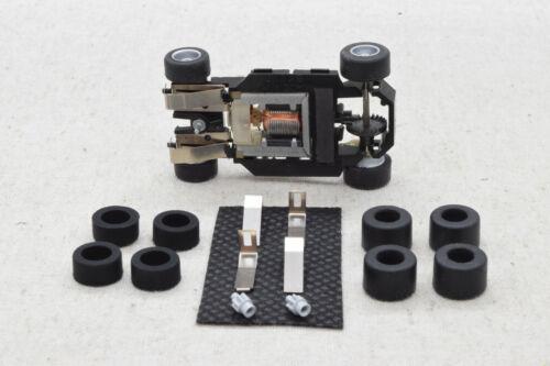 pneus urethane TYCO Ho slot car Chassis HP7 Kit pièces neuves lames pignons !