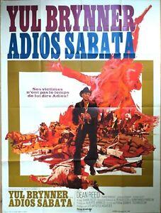 Plakat-Kino-Western-Adios-Sabata-Yul-Brynner-120-X-160-CM