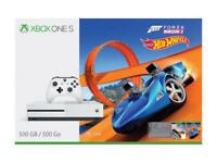 Microsoft Xbox One S 500GB Console Forza Horizon 3 Hot Wheels Bundle