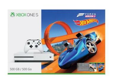Xbox One S 500GB Console Forza Horizon 3 Hot Wheels Bundle