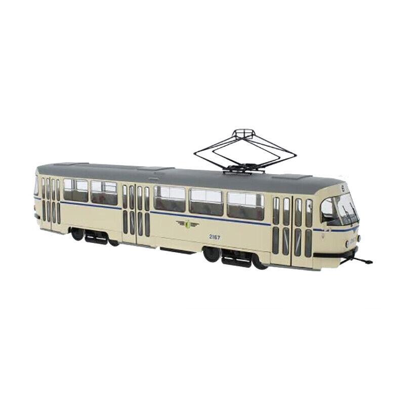 PremiumX PCL47095 Tatra T4 tranvía  Leipzig Verkehrsbetriebe  1 43 nuevo °