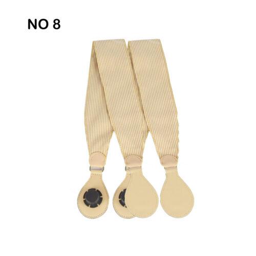 1 Pair Soft Fabric Handle with Drop for O Bag EVA Obag Handbag Women/'s Bags