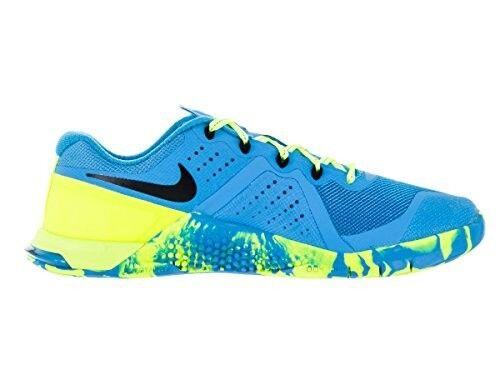 Women's Nike Metcon 2 AMP Sz 7.5  Blue Glow/Black/Volt