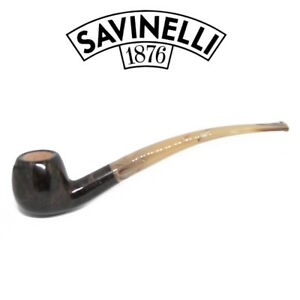 NEW-Savinelli-Ginger-039-s-Favourite-Bent-626-6mm-Balsa-Smooth-Pipe