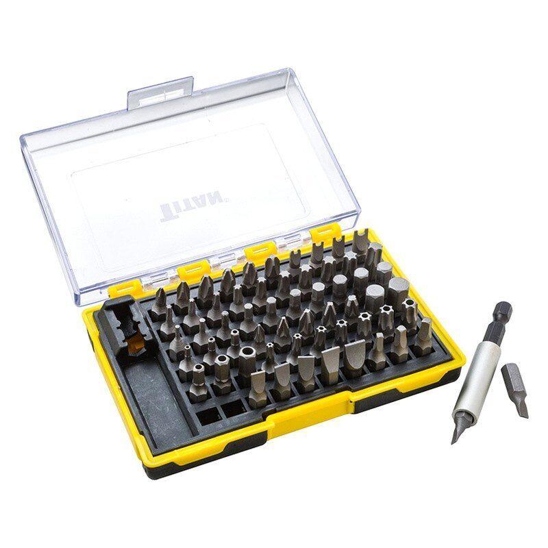 Titan Tools 16061 61 Teile Schraubendreheraufsatz Set