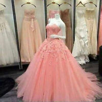 Ball Gown Prom Dresses Sweet 15 16 Quinceanera Dress Pageant Party Formal Gowns