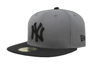best service 5d35a fb6a0 Image is loading New-Era-59Fifty-Hat-Mens-MLB-New-York-