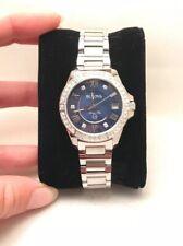 75a3de78ae6 Bulova Marine Star Women s Quartz Diamond Accents Bracelet 29mm Watch  96R215-H56