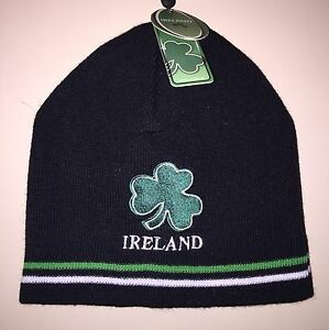 Image is loading Quality-Ireland-Beanie-Hat d7dedb2c078