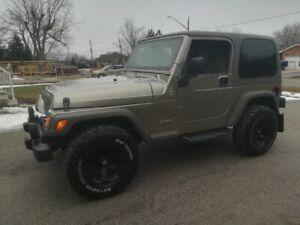 2006 Jeep TJ Sport Wrangler