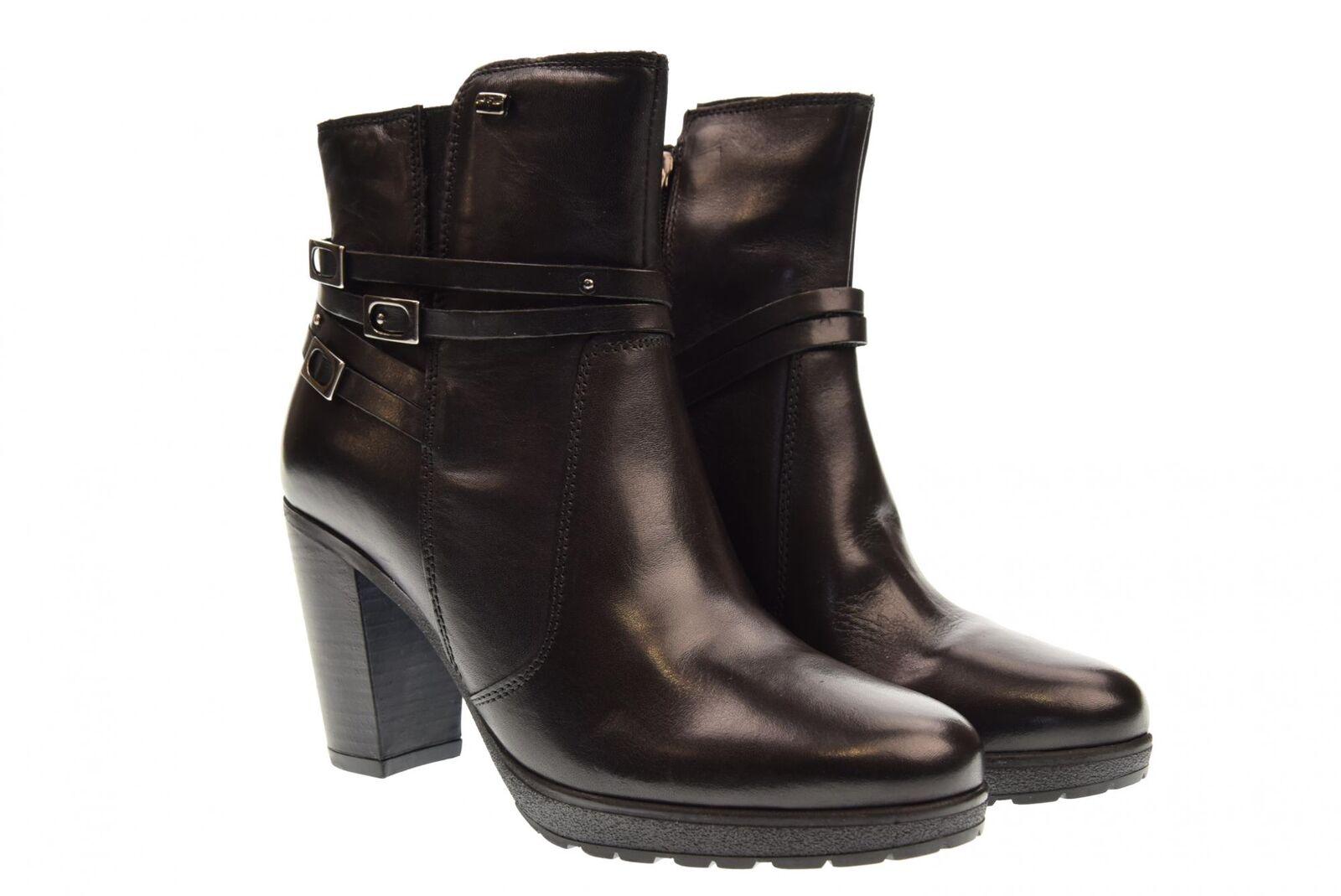 Vallegreen A18f shoes femme bottines 49501 BLACK