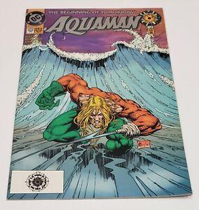 Aquaman #0 Zero Hour Logo Variant RARE HTF DC 1994 VF   eBay