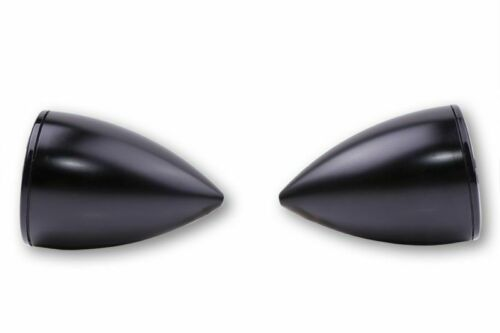 schwarz HIGHSIDER LED Blinker//Positionsleuchte ROCKET BULLET