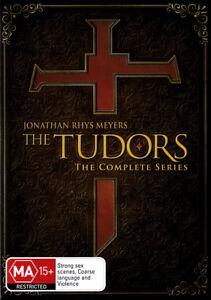THE-TUDORS-SEASON-1-2-3-4-12-DVD-Complete-NEW-Jonathan-Rhys-Meyers-Henry-Cavill