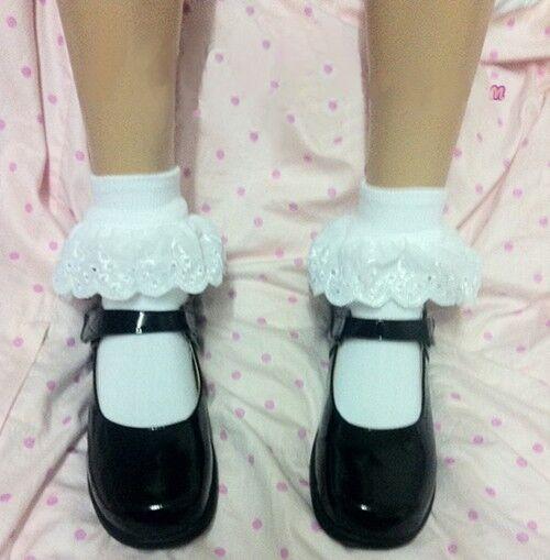 New Japanese School Uniform Shoes Platform Black Leather Shoes