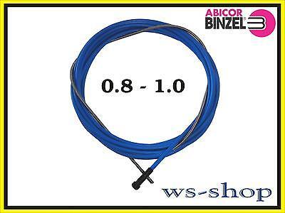 Drahtspirale Drahtseele Drahtführung Führungsspirale Blank 3 m 1-1,2 mm MIG//MAG