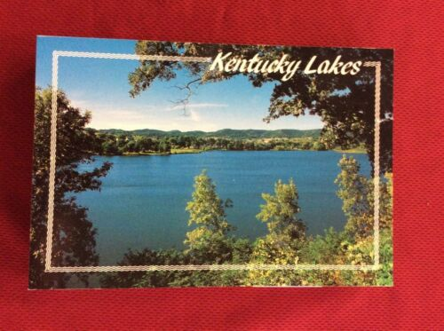 NOS LOT OF 50 CARDS NEW KENTUCKY LAKES POST CARD WAREHOUSE FIND