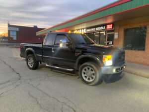 2008 f250 6.4 diesel lariat leather gps tuned deleted need nothi