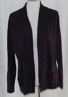 Debbie Morgan, Large, Victorian Purple Fly Away Cardigan, With Tags