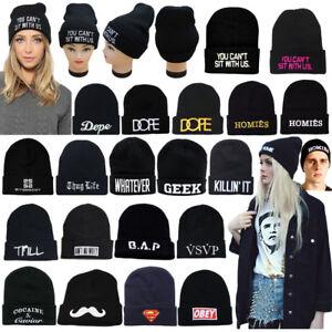 Cap-Knit-Men-Hats192374230154-Winter-Slouchy-New-Warm-Unisex-Women-Beanie-Black