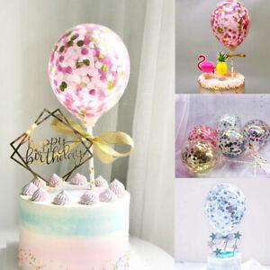 5-039-039-Confetti-Foil-Latex-Balloons-Baby-Shower-Wedding-Birthday-Hen-Party-Decor